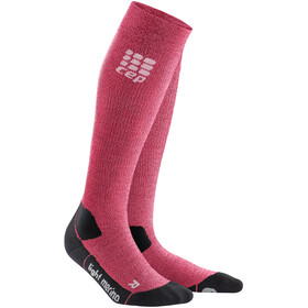 cep Pro+ Outdoor Calcentines Merino Light Mujer, wild berry